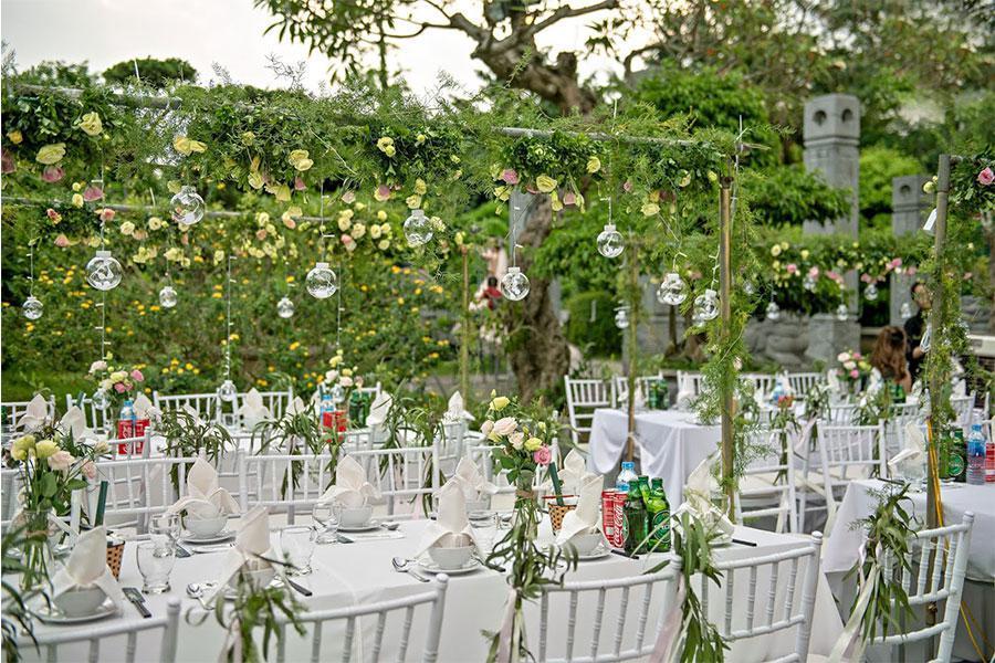 Bật mí những kinh nghiệm đặt tiệc cưới tại nhà chuẩn nhất